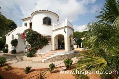 Denia villa te huur met uitzicht op de zee in spanje for Buitentrap te koop