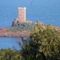 Zeer conditionering bekijkt zee St Raphaël