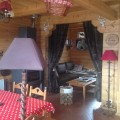 Chalet in massief hout
