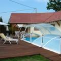 Lodge binnenzwembad verwarmd + sauna