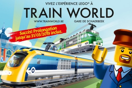 Lego Experience bij Train World verlengd tot 31 maart